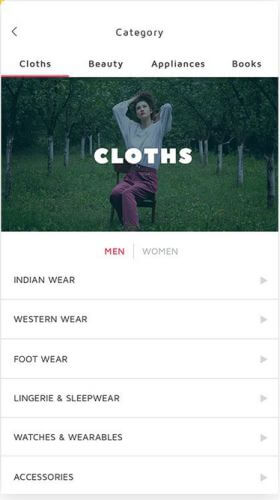 Android eCommerce App
