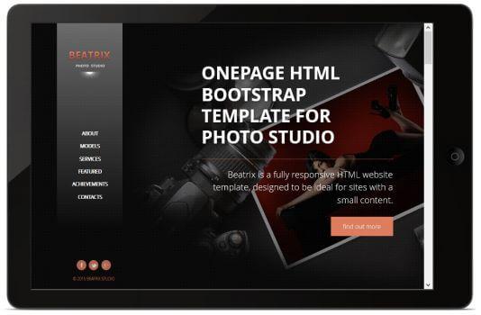 HTML Photo Theme