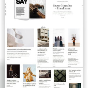 Portfolio Thema WordPress