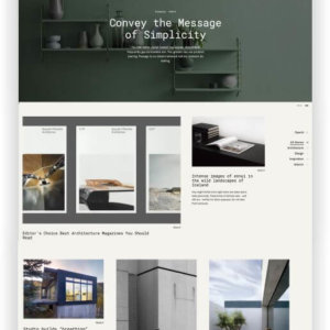 Portfolio WordPress Thema
