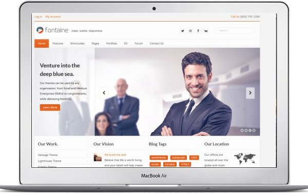 Joomla Business Templates