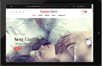 WooCommerce Erotik Shop
