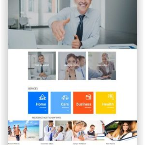 Joomla Business Template