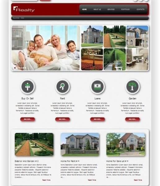 Joomla Immobilien Thema