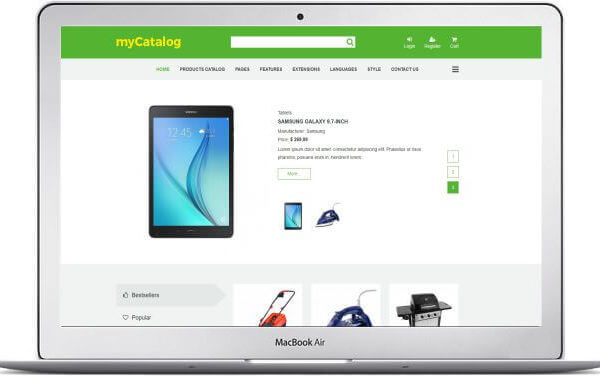 Joomla Affiliate Marketing Template