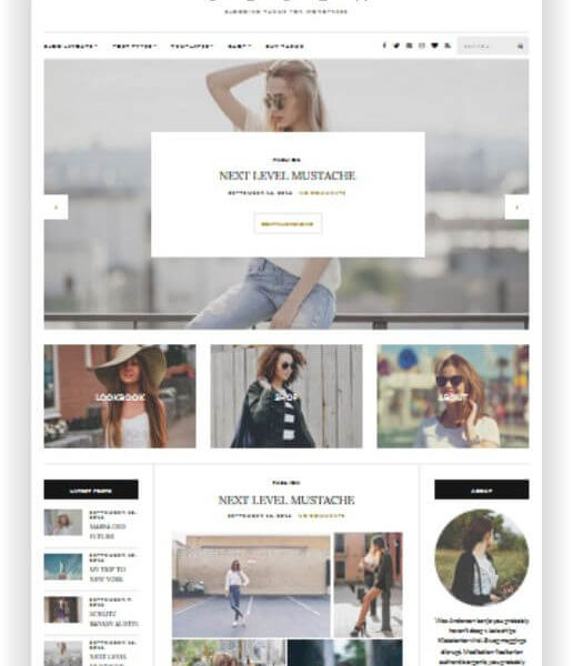 Wordpress Lifestyle Magazin Olsen