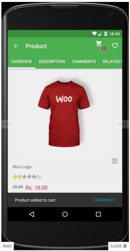 Android WooCommerce App