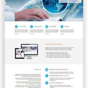 HTML Technik Template