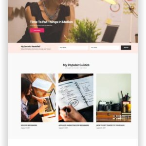 WordPress Blog und Business Thema