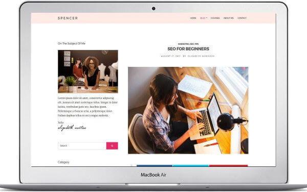WordPress Blog und Business Theme