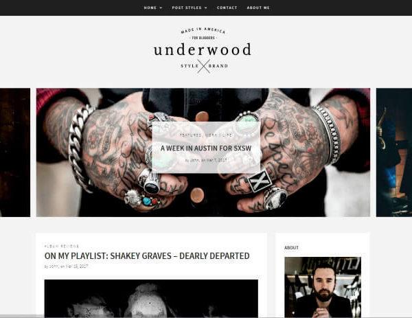 Modernes WordPress Blog Thema