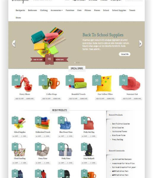 WooCommerce Boutique Thema