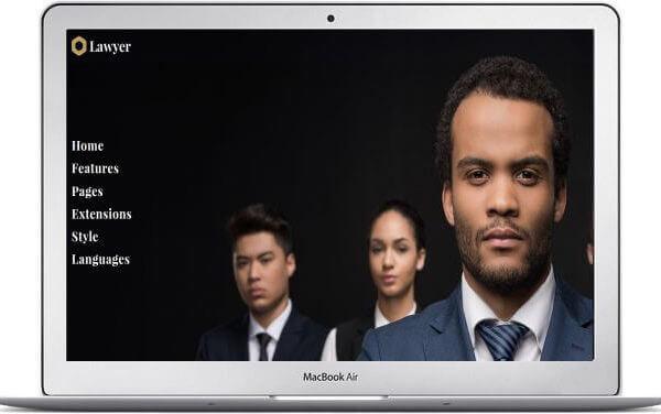 Joomla Business Template