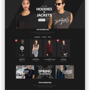 Responsives WooCommerce Thema