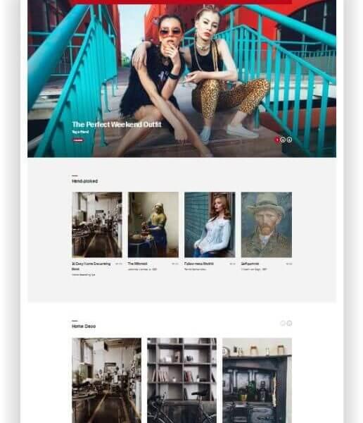 WordPress Pinterest Style