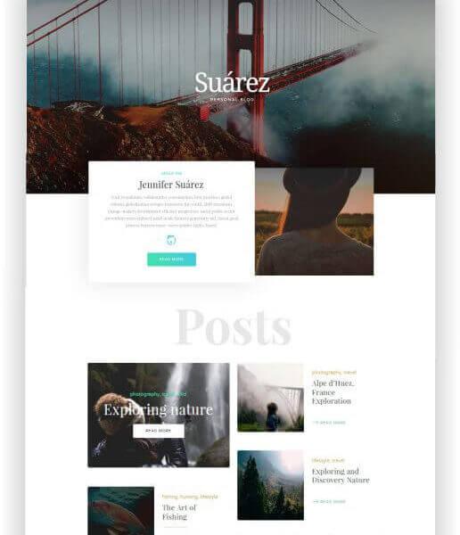 WordPress Blog Thema
