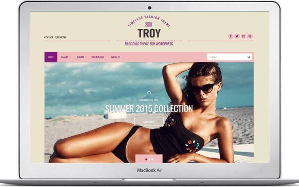 WordPress Fashion Blog
