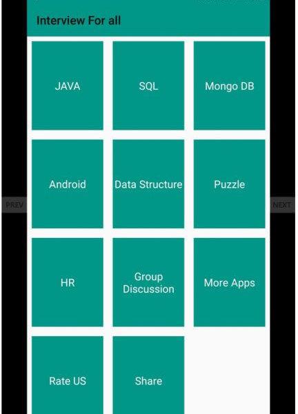 Android Bewerbungsgespräch