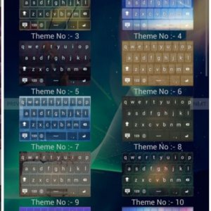Android Keyboard Theme