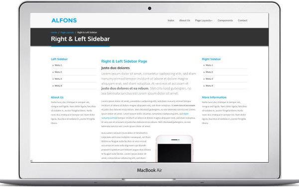 HTML5 Gratis Landing Page