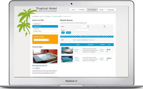 Joomla Hotel Theme