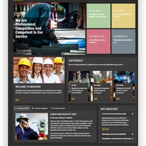 Joomla Industrie Template