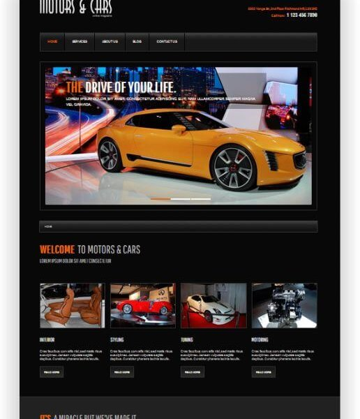 Joomla Motormagazin