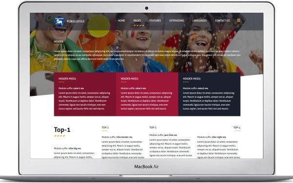 Webseite für Fussballclub mit Joomla