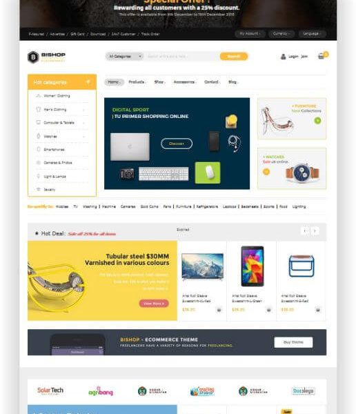 Magento 2 Electronik Store Thema