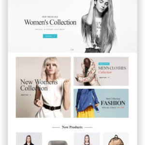 Magento 2 Fashion Shop Template