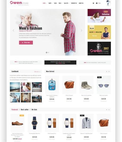 Elegantes Mode Shop Thema