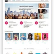 Magento Fashion Shop Thema