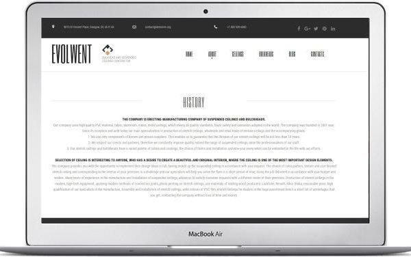 MotoCMS Firmen Webseite