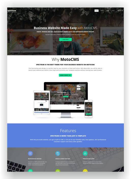 MotoCMS Templates für alle Bereiche hier finden und downloaden!