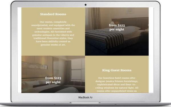 MotoCMS Hotel Thema Alexandra