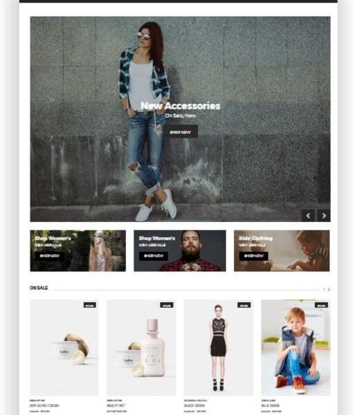 WooCommerce Fashion Store