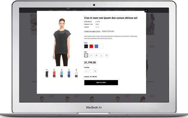 Shopify Fashion Thema