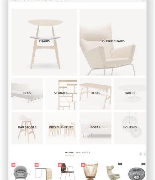 Shopify Möbel und Interior Thema