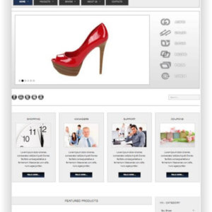 VirtueMart Schuhshop Thema