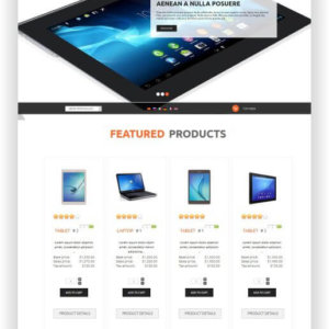 VirtueMart Elektronik Shop Template