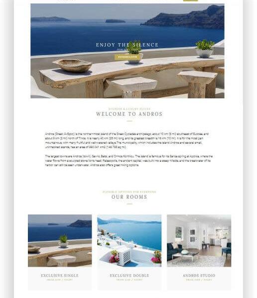 Wordpress Hotel Thema Andros