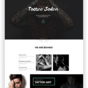WordPress Portfolio Thema Brando