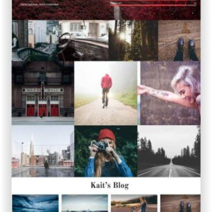 WordPress Portfolio Thema Fivr