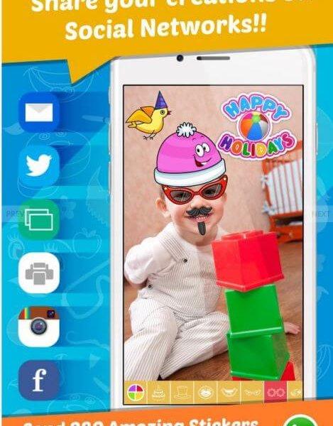 iOS Sticker App Theme