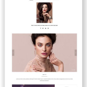 WordPress Fashion Magazin