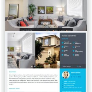 WordPress Immobilien Thema Real Places