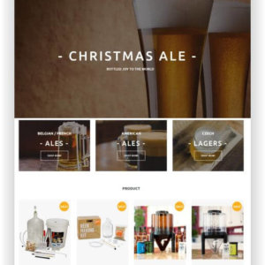 Bier Online Shop Thema