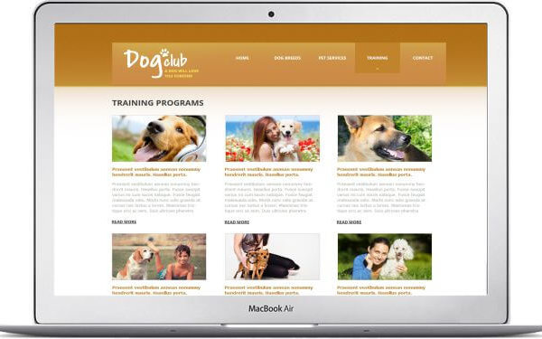 Hunde Webseite