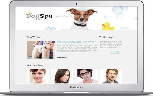 Hundesalon Webseite