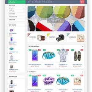 PrestaShop Mega Shop Thema